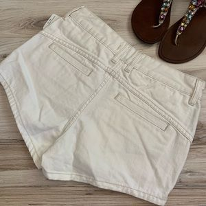 Free People Shorts - Free People Sweet Surrender Shorts in White